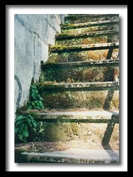 Fort Worden stairs